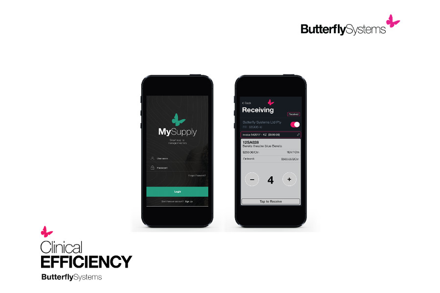 the Butterfly Systems app on phones