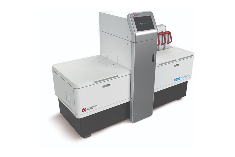 The automated plate assessment system instrument, also known as the APAS® Independence.